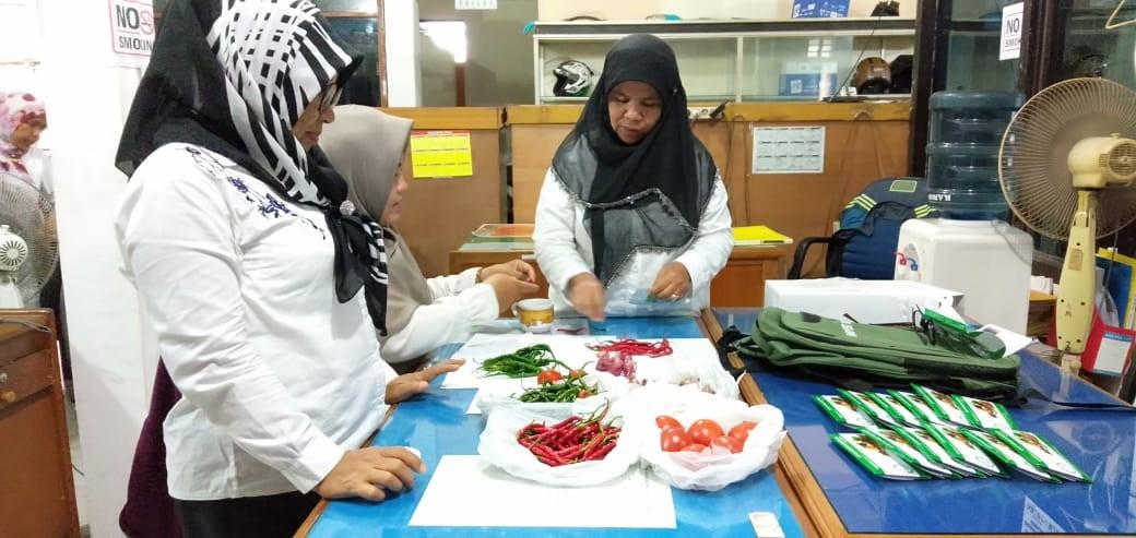 Pemeriksaan Pestisida Terhadap Sampel Pangan Segar