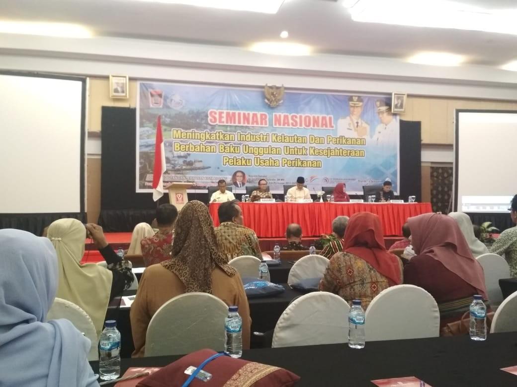 Seminar Nasional Meningkatkan Industri Kelautan dan Perikanan Berbahan Baku Unggulan Untuk Kesejahte