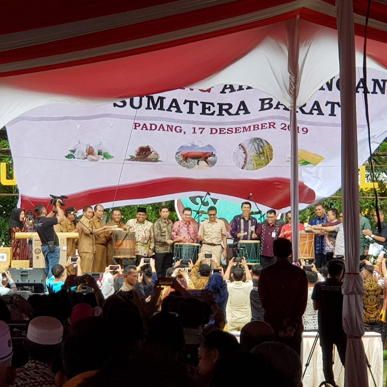 Launching Aksi Pangan Sumatera Barat di Lapangan Imam Bonjol Padang