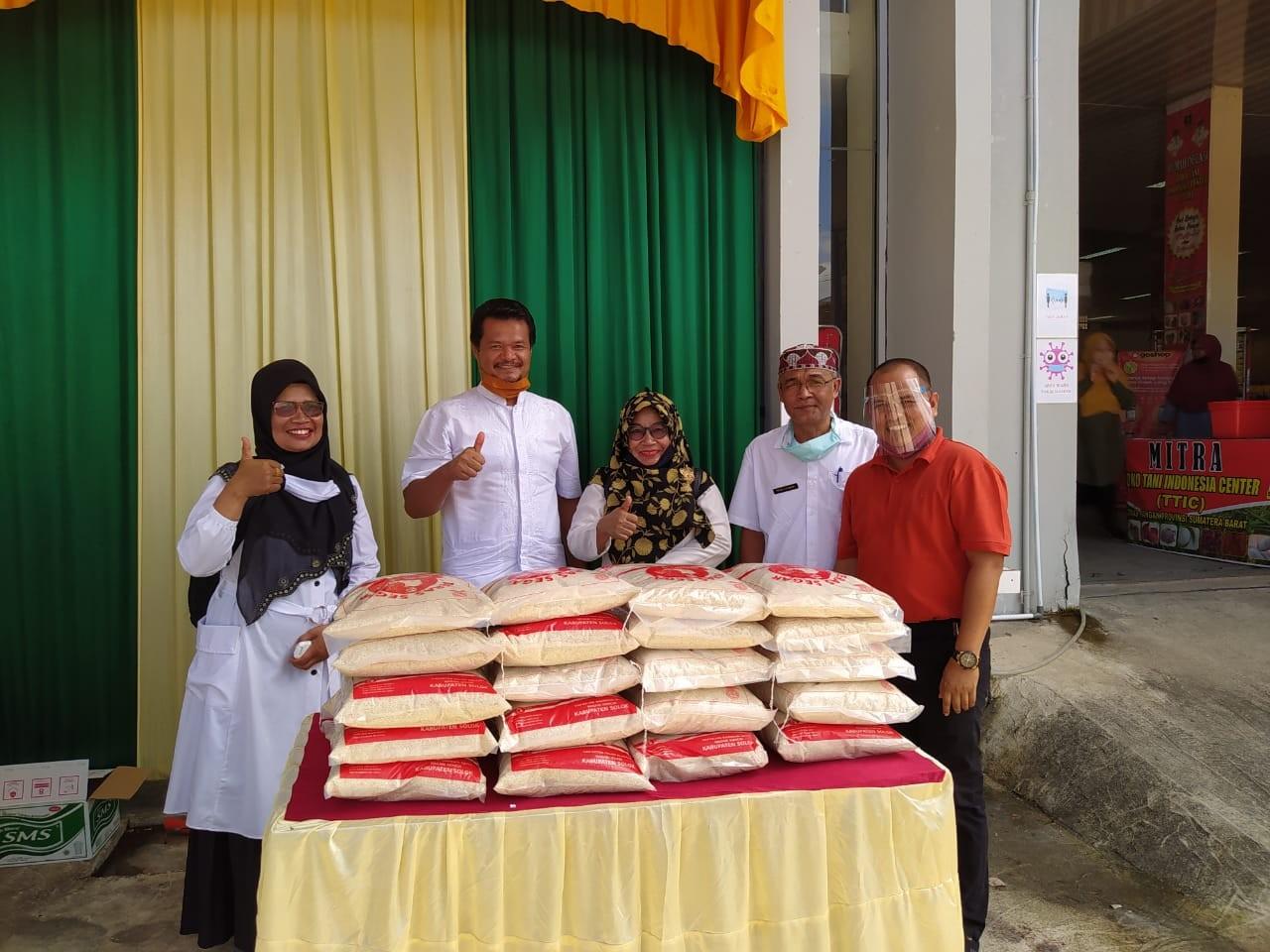 Kegiatan Bazar di Dinas Pangan Provinsi Sumatera Barat UPTD TTI Center