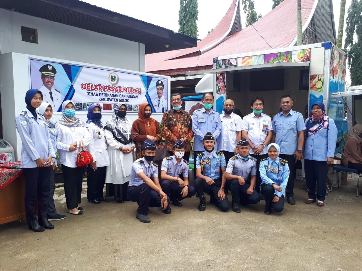 Implementasi Kerjasama Dinas Perikanan dan Pangan Kab.Solok dengan Politeknik Kelautan dan Perikanan