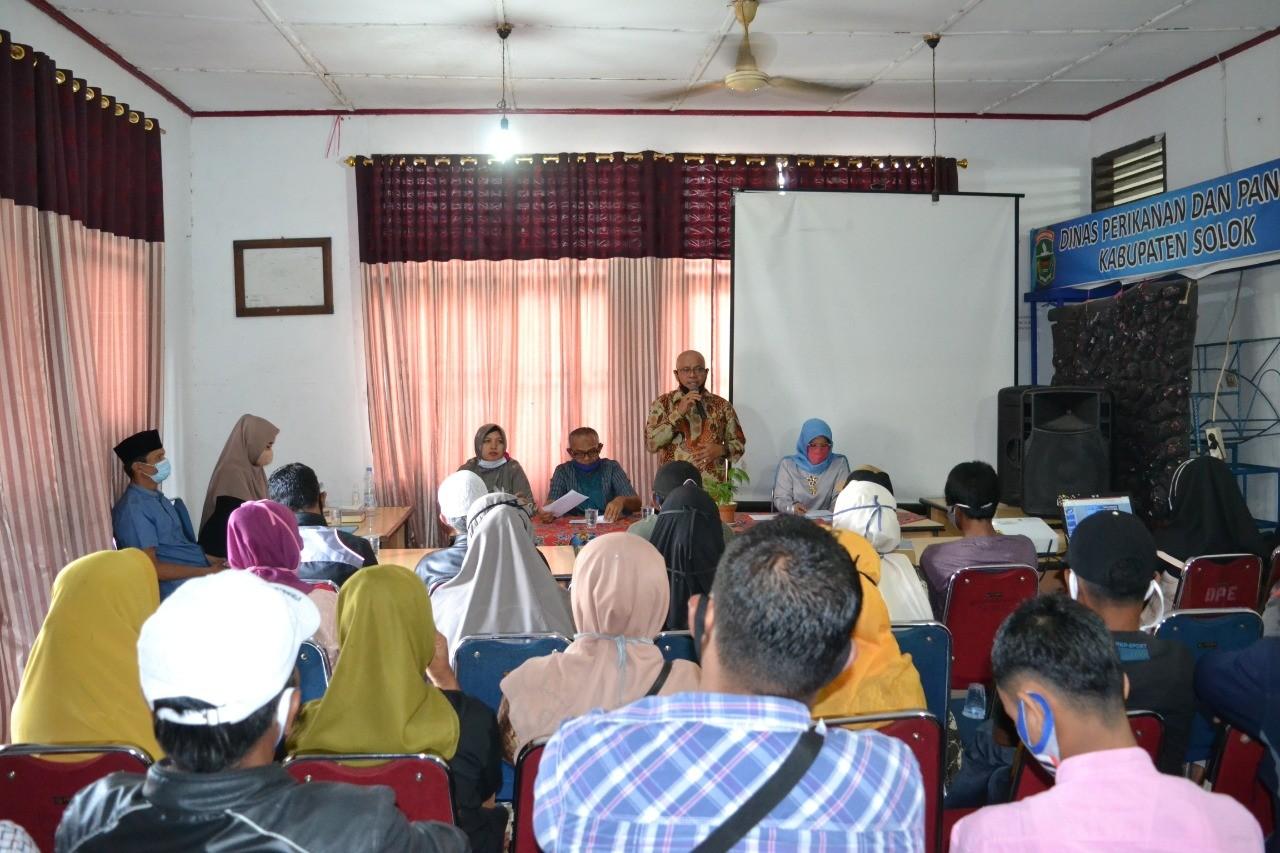 Rapat kegiatan Dana Insentif daerah (DID) Tahun 2020 (Sarana Alat Penangkapan Ikan dan sarana Alat P