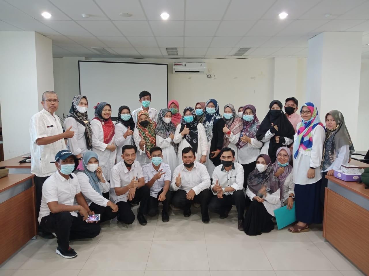 Mengikuti Pertemuan Apresiasi Panel Harga Pangan di Dinas Pangan Propinsi Sumatera Barat di Padang